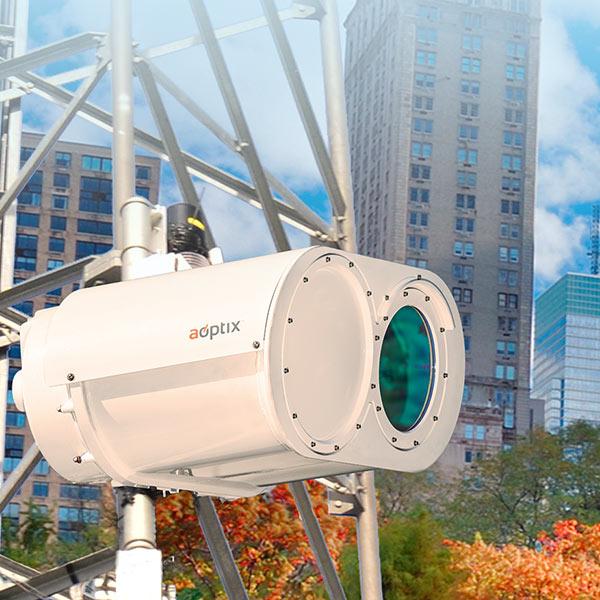 В AOptix Intellimax Evolve используется гибридная технология связи в оптическом и миллиметровом диапазонах