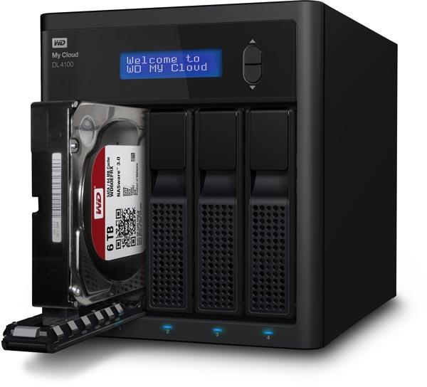 В сетевых хранилищах WD My Cloud EX2100, EX4100, DL2100 и DL4100 используются жесткие диски WD Red