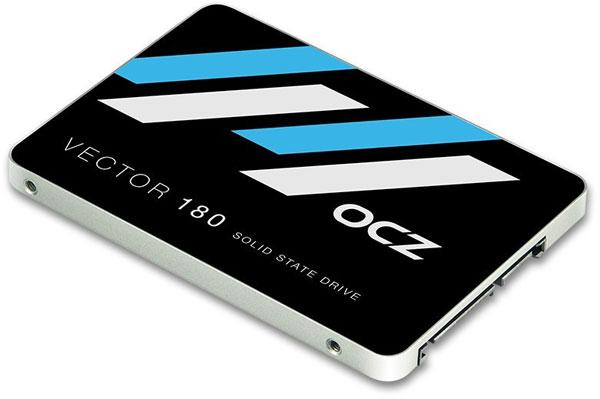 Серия OCZ Vector 180 включает SSD объемом 120, 240, 480 и 960 ГБ