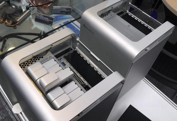Компания SilverStone привезла на CeBIT 2015 корпуса для хранилищ данных