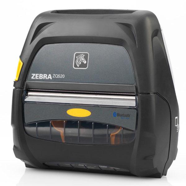 Степень защиты принтеров серии Zebra ZQ500 — IP54, в специальном чехле — IP65