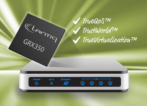 Ознакомительные образцы Lantiq GRX350 уже доступны