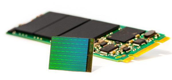 Micron планирует увеличение числа слоев 3D NAND до 96