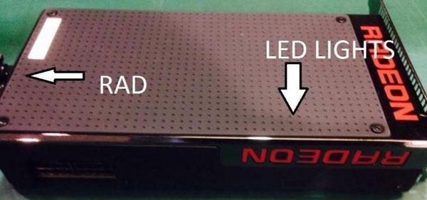 Отсутствие микросхем памяти и использование СВО позволили сделать 3D-карту AMD Fiji XT короткой