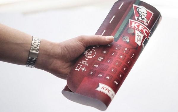KFC Bluetooth-клавиатуры