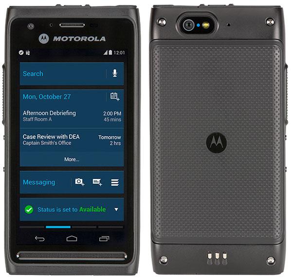 Мобильное устройство в усиленном исполнении Motorola Solutions LEX L10 поддерживает LTE