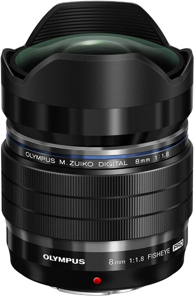 Объектив M.Zuiko Digital ED 8mm F1.8 Fisheye Pro оценен в $1000