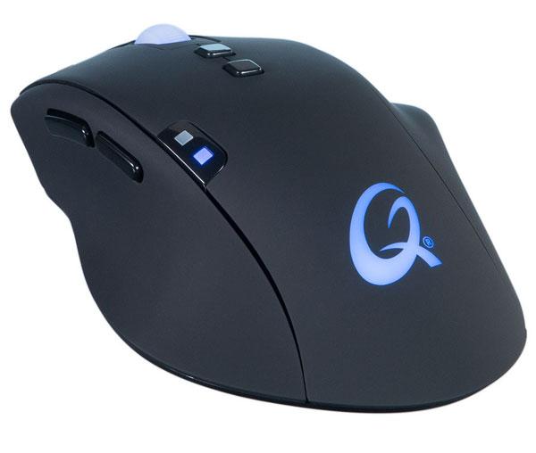 К компьютеру мышь QPAD 8K Optical подключается по USB