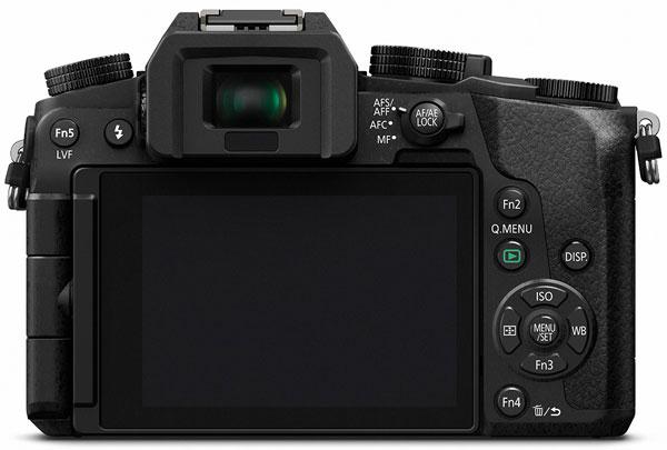 Оснащение камеры Panasonic Lumix DMC-G7 включает видоискатель OLED разрешением 2,36 млн точек