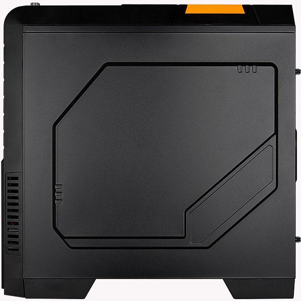В боковой панели компьютерного корпуса CoolTek GT-04 есть окно неправильной формы