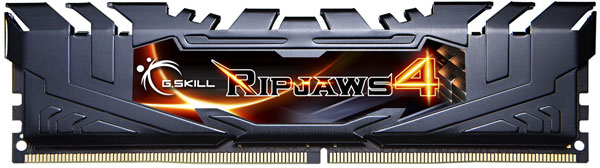 Входящие в наборы G.Skill Ripjaws 4 DDR4-3666 модули памяти работают на эффективной частоте 3666 МГц с задержками 18-18-18-38