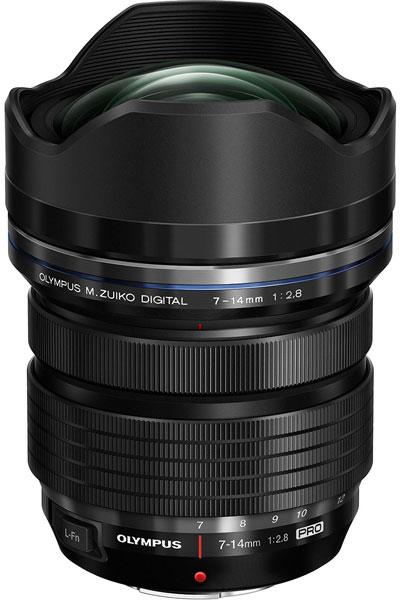 Широкоугольный объектив M.Zuiko Digital ED 7-14mm F2.8 Pro оценен производителем в $1300