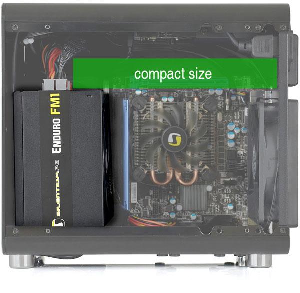 Блоки питания SilentiumPC Enduro FM1 Gold оснащены модульными кабельными системами