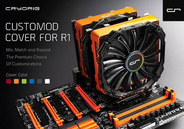 В Cryorig придумали, что можно надеть на процессорные кулеры R1
