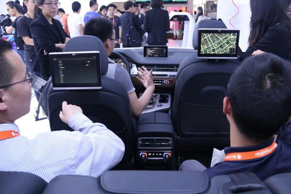 Управление жестами для автомобилей Audi взялись разработать специалисты немецкой компании Gestigon