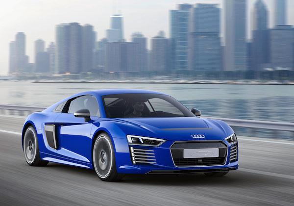 Концептуальный электромобиль Audi R8 e-tron получил все необходимое, чтобы обойтись без водителя
