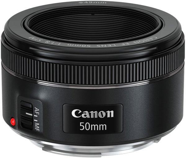 Продажи Canon EF 50mm F/1.8 STM начнутся в конце текущего месяца
