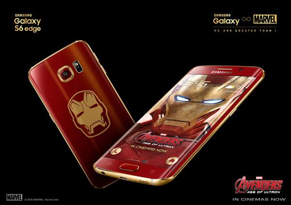 C технической стороны Galaxy S6 edge Iron Man Limited Edition не отличается от базовой модели с 64 ГБ флэш-памяти
