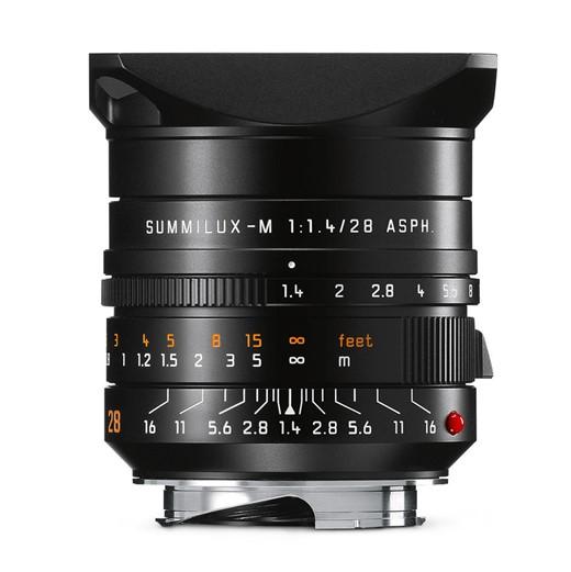 Leica Summilux-M 28mm F1.4 ASPH — первый объектив Leica M с фокусным расстоянием 28 мм и максимальной диафрагмой F/1,4