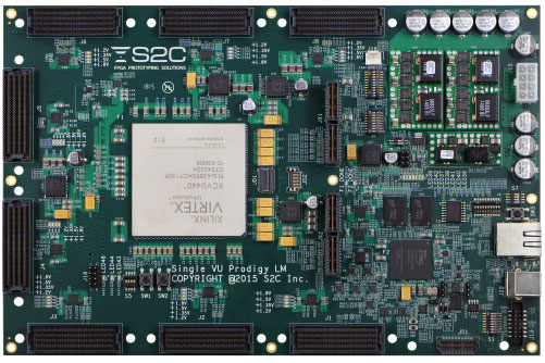 Производитель называет S2C Single VU440 Prodigy Logic Module самым маленьким автономным модулем для создания прототипов на базе FPGA