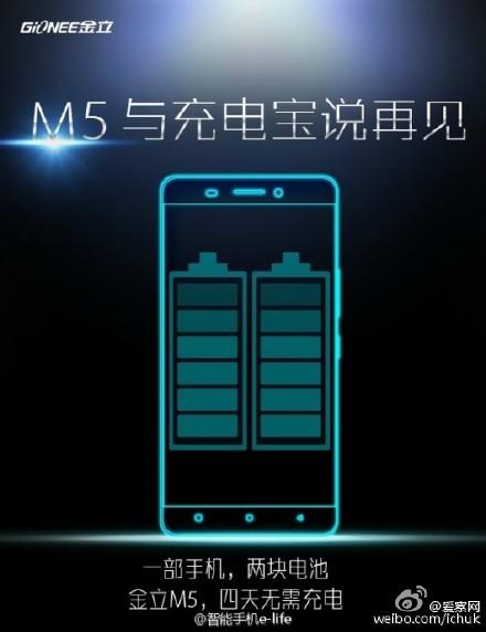 Gionee M5