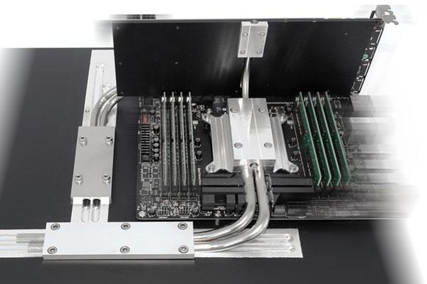 Базовая конфигурация системы Deltatronic Silentium! X99 обойдется покупателю в 1990 евро