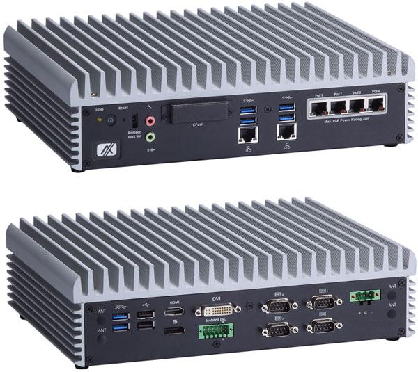 Компьютер Axiomtek eBOX671-885-FL построен на процессоре Intel Haswell