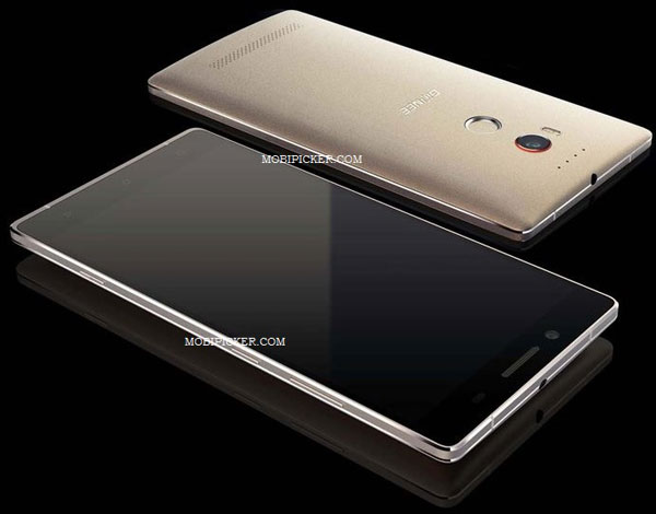 На новом изображении смартфон Gionee Elife E8 показан одновременно спереди и сзади