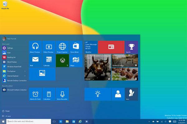 Выход ОС Microsoft Windows 10 ожидается этим летом
