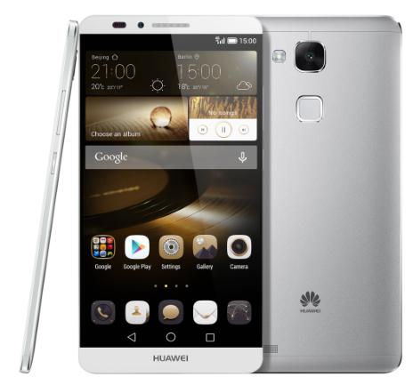 В плане дизайна Huawei Mate 8 не получит существенных отличий от модели Ascend Mate 7