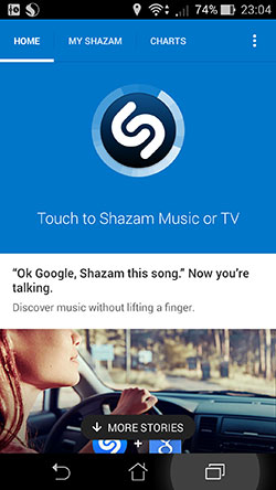 ��������� �������� Ok, Google, Shazam this song ����� ����� ���������� ������������ �����������