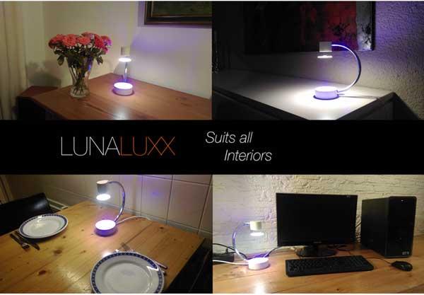 По словам авторов изделия, Lunaluxx светит примерно так же, как светит лампа накаливания мощностью 15-20 Вт