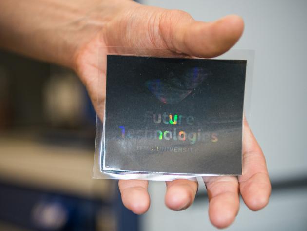 В России впервые в мире голограммы изготовлены методом струйной печати