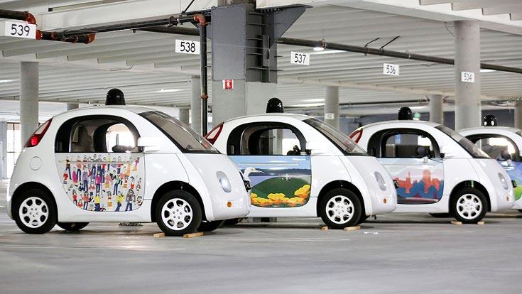 Компания Google провела художественный конкурс Paint the Town: Mountain View