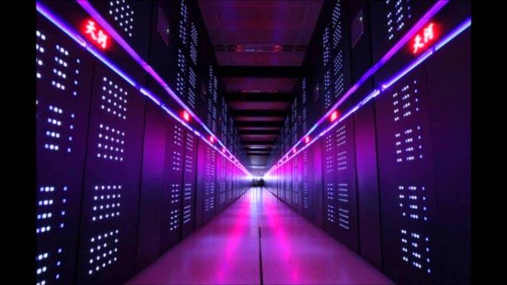 Самый высокопроизводительный компьютер в мире находится в Китае