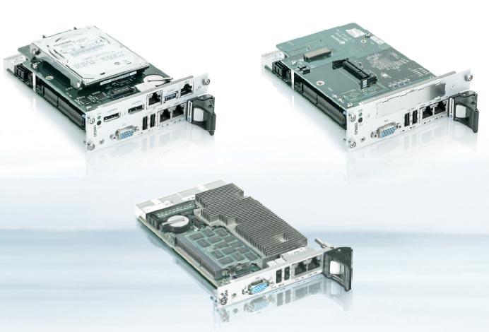 Модульные компьютеры типоразмера CompactPCI используются преимущественно в промышленной автоматике и бортовых системах