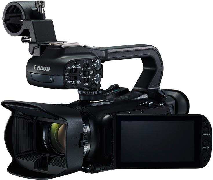 Портативные видеокамеры Canon XA35 и XA30 позволяют снимать видео Full HD с кадровой частотой 60 к/с