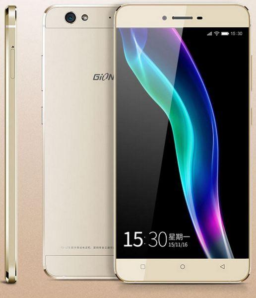 Смартфон Gionee Elife S6 основан на SoC MediaTek MT6753