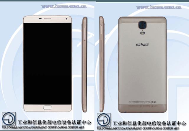 Смартфон Gionee GN8001 получит большой экран AMOLED