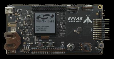 Микроконтроллеры семейства EFM8LB1 выпускаются в корпусах типа QFN размерами 3х3 мм