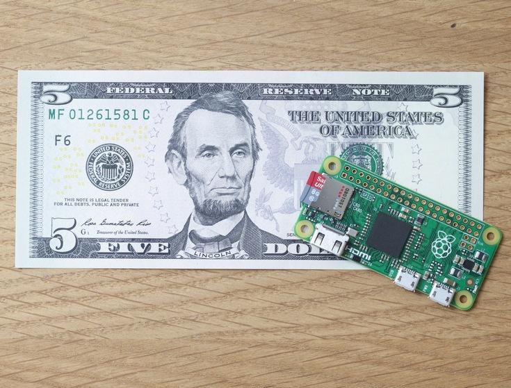 Представлен микро-ПК Raspberry Pi Zero