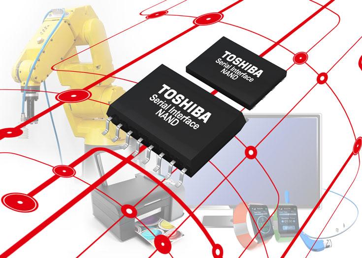 микросхемы флэш-памяти SLC