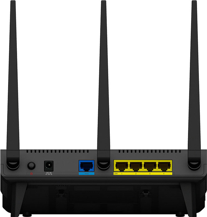 Беспроводной маршрутизатор Synology RT1900ac соответствует спецификации IEEE 802.11a/b/g/n/ac