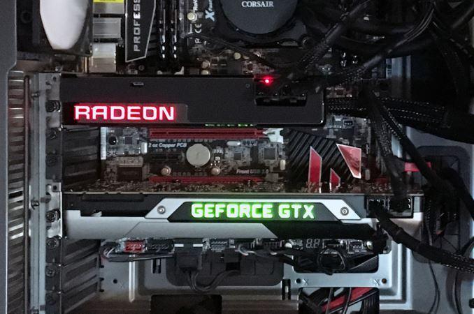 Карты AMD и Nvidia могут работать вместе