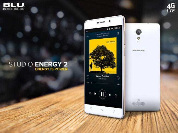 Смартфоны Blu Studio Energy 2 и Energy X стоят $180 и $110