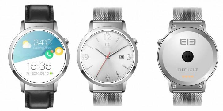 Часы Elephone Ele Watch получат SoC MediaTek MT2601