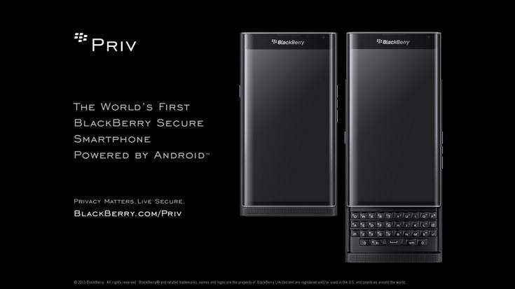 ������ �������� BlackBerry Priv ����� �� $700