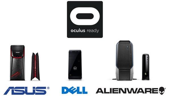 В следующем году на рынке появятся различные модели компьютеров с наклейкой Oculus Ready от известных производителей включая Asus Alienware и Dell