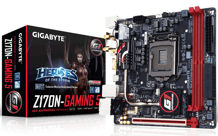 Ориентировочная цена Gigabyte Z170N-Gaming 5 — $150