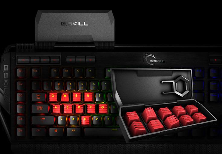 Начались продажи игровых механических клавиатур G.Skill Ripjaws KM780 RGB и KM780 MX